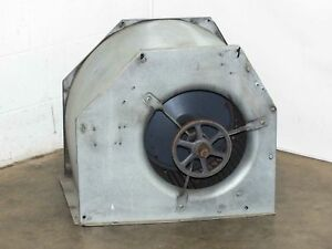 Large 14 Squirrel Fan With Aluminum Housing And Pulley no Motor