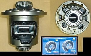 Rebuilt 7 5 7 6 7 1 2 5 8 10 Bolt Eaton Posi 26 Spline G80 New Bearings