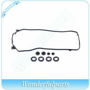 Fit Honda Crx Dx Hf Civic Cx Dx S 1 5l Crx Si 1 6l Valve Cover Gasket D15b D16a6