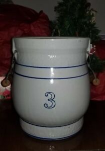Red Seal Water Cooler Crock 3 Beckley Cardy Company Chicago