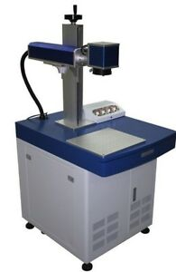Quality 20w Fiber Laser Marking Engraving Machine Engrave Metal