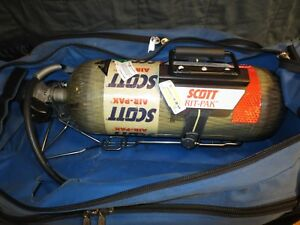 Scott Rit Pak With 3000 Psi Scba Tank Complete And Ready To Go