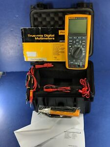 Fluke 289 True Rms Industrial Logging Multimeter Very Good Calibrated 8 2019