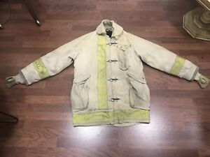 Firemens Gor tex Jacket Rescue Survival 42r Large Halloween
