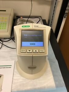 Bio rad T20 Cell Counter year 2015 operates Per Factory Oem Specifications