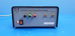 New Focus Newport 0901 15 Volt Current Limited Lab Power Supply used