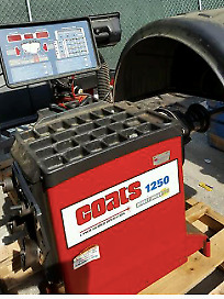 Coats 1250 Wheel Balancer Computerized Laser 30 Rims heavy Duty Machine Usa Mfg