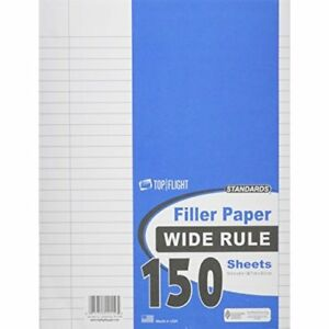 Filler Paper Wide Rule 150 ct