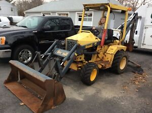 2006 Diesel Terramite Tractor Backhoe 4 In 1 Front Bucket Ready To Work