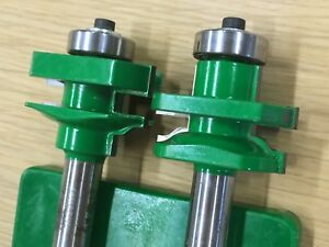 Grizzly Router Bit Set C1395 Carbide Roman Ogee Stile Rail 1 2 Shank