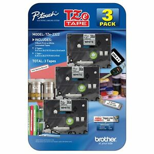 Brother P touch Label Tape Assorted Pack 2 Tze231 1 Tze221 best Price