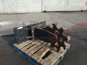 Skid Steer 24 Inch Compaction Wheel Attachment