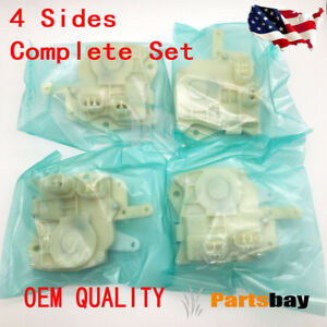 4 Sides Complete Set Power Door Lock Actuator For Honda Accord Civic Odyssey Oem
