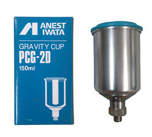 Anest Iwata Pcg 2d 1 150ml Gravity Cup For Spray Gun Lph 80 Series