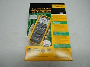 Brand New Never Used Fluke 289 True rms Logging Multimeter
