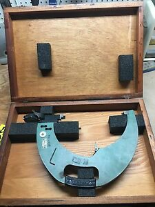Federal 300p 40 Snap Gage 9 To 10 C5m Indicator 0005 Wooden Box