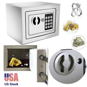 Electronic Safe Lock Box Security Digital Keypad Gun Jewelry Money Home Officema