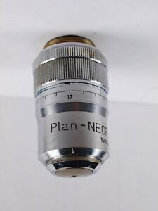 Zeiss Plan neofluar 63x Air Dry With Collar 160 Tl Microscope Objective