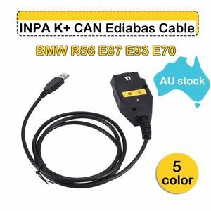 For Bmw Inpa K Dcan Dis Sss Ncs Coding Ista Diagnostic Usb Interface Cable Us