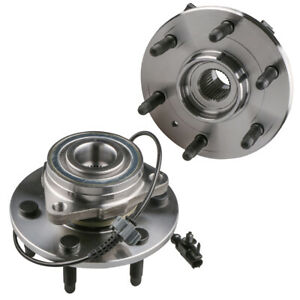 2x Front Wheel Hub Bearing Assembly For Gmc Yukon Chevy Tahoe Cadillac Escalade