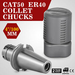 Cat50 Er40 Collet Chuck New Tool Holder Wproj 4 8 000 Rpm
