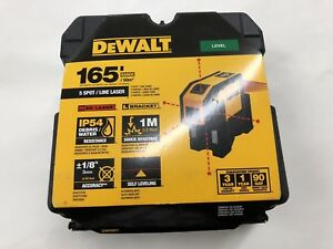 Dewalt Dw0851 Self Leveling Spot Beams And Horizontal Line new in box