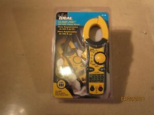 Ideal 61 746 Clamp Pro 600 Aac True Rms Clamp Meter New In The Package