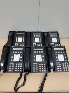At t Lucent Avaya 8410d Lot Of 6 106705122 Used Black Office Phones
