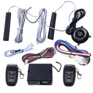 Directed Pke Passive Keyless Entry System Lock Unlock Vehicle Touchless Key Car