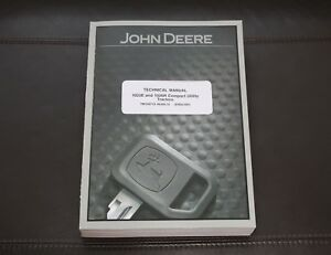 John Deere 1023e 1026r Compact Utility Tractor Service Manual Tm109719