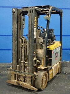 Yale Erc050vgn48te083 Electric Forklift 4700 171 12180190003