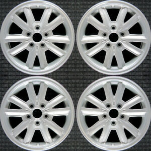 Set 2005 2006 2007 2008 2009 Ford Mustang Oem Factory Silver Wheels Rims 3792