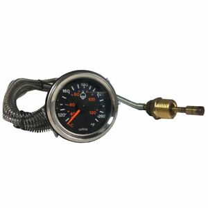 New Universal 2 52mm Car Truck Auto Water Temperature Temp Gauge Meter