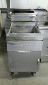 Used Dean D18gnts Natural Gas Doughnut Deep Fryer