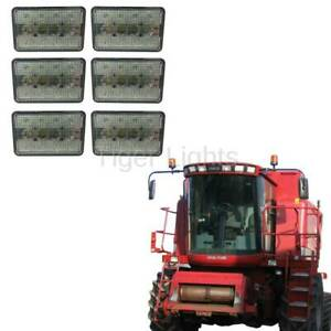 Case Ih Combine Led Tiger Light Kit For 2000 Series 6 Lights Plug And Play