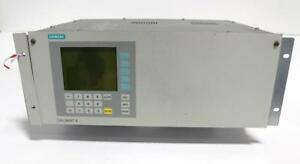 Siemens Calomat 6e Gas Analyzer 7mb2521 1aa00 0aa1