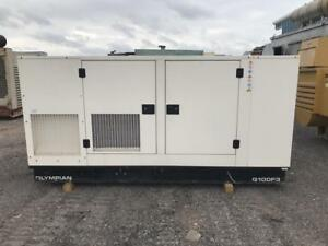 _100 Kw Cat Olympian Generator Set Sound Attenuated 12 Lead 480 277 Volts
