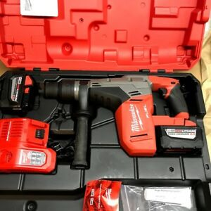 Milwaukee 2717 22hd 18v 1 9 16 In Sds max Rotary Hammer 2 9 0ah Batt Charger