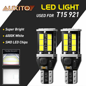 Super White Canbus 912 921 T15 W16w Led Bulb For Car Backup Reverse Light Auxito