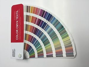 Set Color Cmyk Textil Color Guide Pantone For Digital Print Coated uncoated