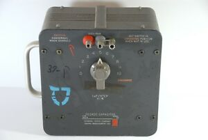 Gr General Radio Company Type 1424 m Standard Decade Capacitor warranty