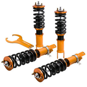 Coilovers Suspension Spring Struts For Honda S2000 2000 2009 Adjustable Height