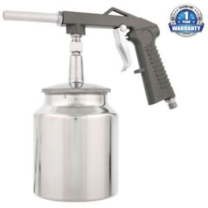 New Tcp Global Brand Pneumatic Air Undercoating Gun With Suction Feed Cup