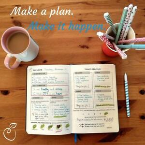 Food Journal Fitness Diary With Daily Gratitude Meal Planner Healthy Living