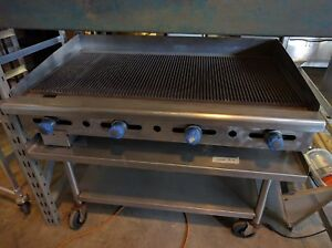 Imperial 48 Hybrid Flat Top Griddle Grill Natural Gass