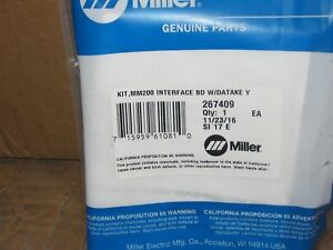 Miller Welder Multimatic 200 Interface Board 267409
