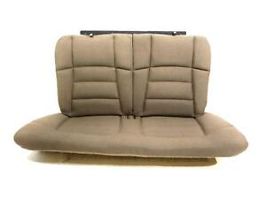 Oem Ford Mustang Tan Cloth Coupe Rear Seat 1994 2000 2001 2002 2003 2004