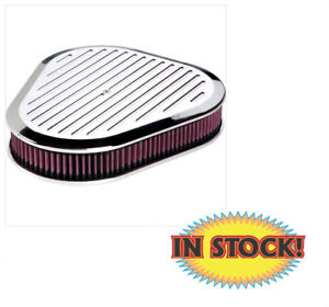 Billet Specialties 15720 Ball Milled Triangle Air Cleaner Polished