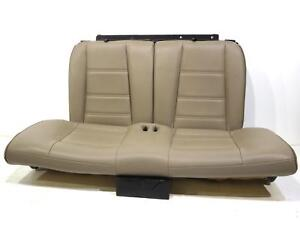 Oem Ford Mustang Tan Leather Coupe Rear Seat 1994 2000 2001 2002 2003 2004