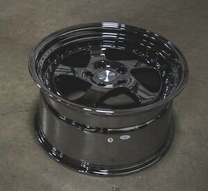 Esr Sr02 19x9 5 19x10 5 22 5x114 3 Black Chrome 350z G35 Genesis Mustang Is250